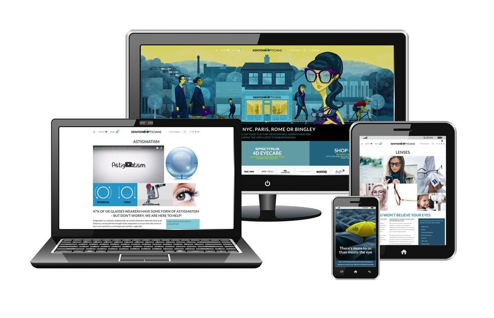 Kenyon Opticians Website Launch
