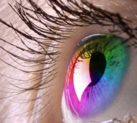 coloured eye contact lenses