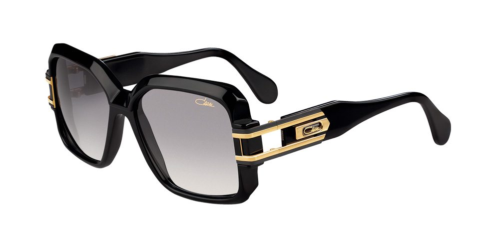 664b2a71390 Cazal Legends 623 3 001 Black And Gold Sunglasses – Kenyon Opticians ...