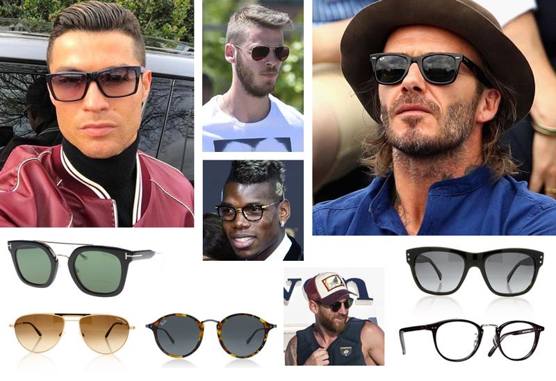 famous footballer sunglasses