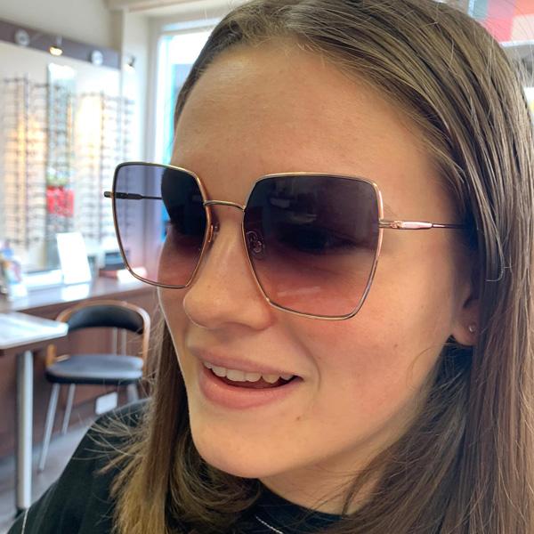 Lydia wearing GiGi Studios - Thelma